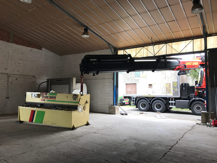 janot levage manutention avec camion grue